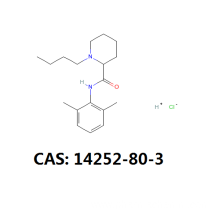 Best quality Low price for Anesthetic Powder Bupivacaine hcl api Bupivacaine HCL cas 14252-80-3 supply to Cayman Islands Suppliers