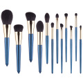 premium crystal handle makeup brush set