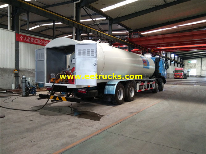 Mobile LPG Filling Trucks