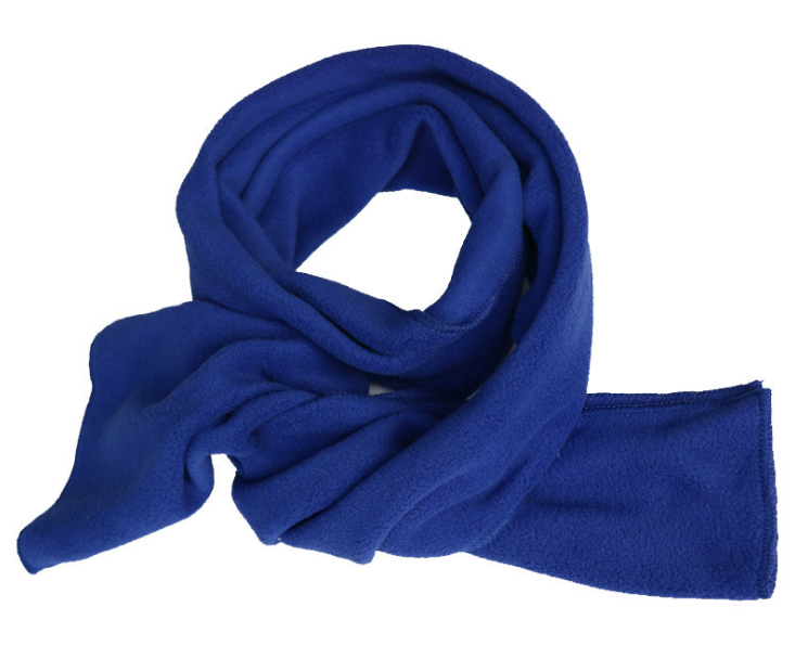 Adult Polar Fleece Scarf Royal blue