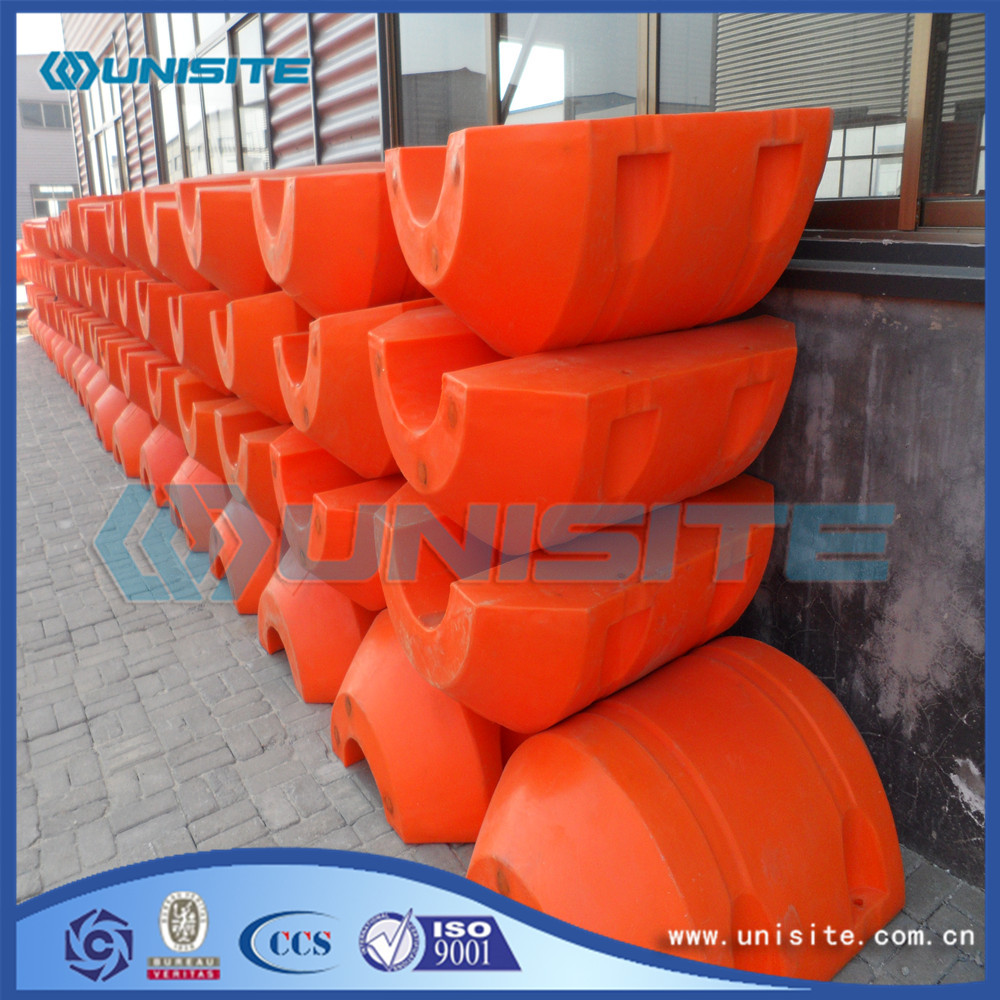 Marine dock plastic float