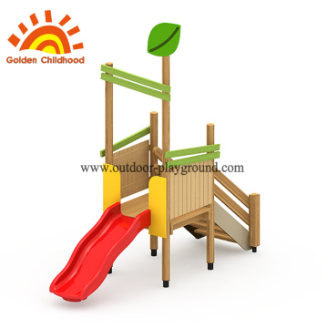 Wooden playground frame plans
