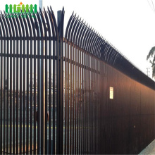 Wholesale Price China for  Directly factory High quality steel palisade fencing export to Malawi Manufacturer