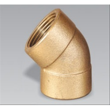 Brass 45' Female Elbow