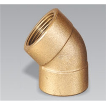 Professional Design for China Brass Fitting,Copper Male Union,Brass Compression Tee,Brass Compression Nipple Manufacturer Brass 45' Female Elbow supply to French Polynesia Factory