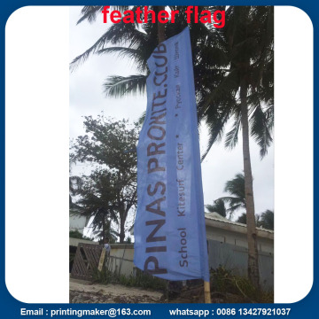 15ft Advertising Flying Beach Banner with Digital Printing