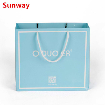 Gift Coated Paper Bag With Logo Printing