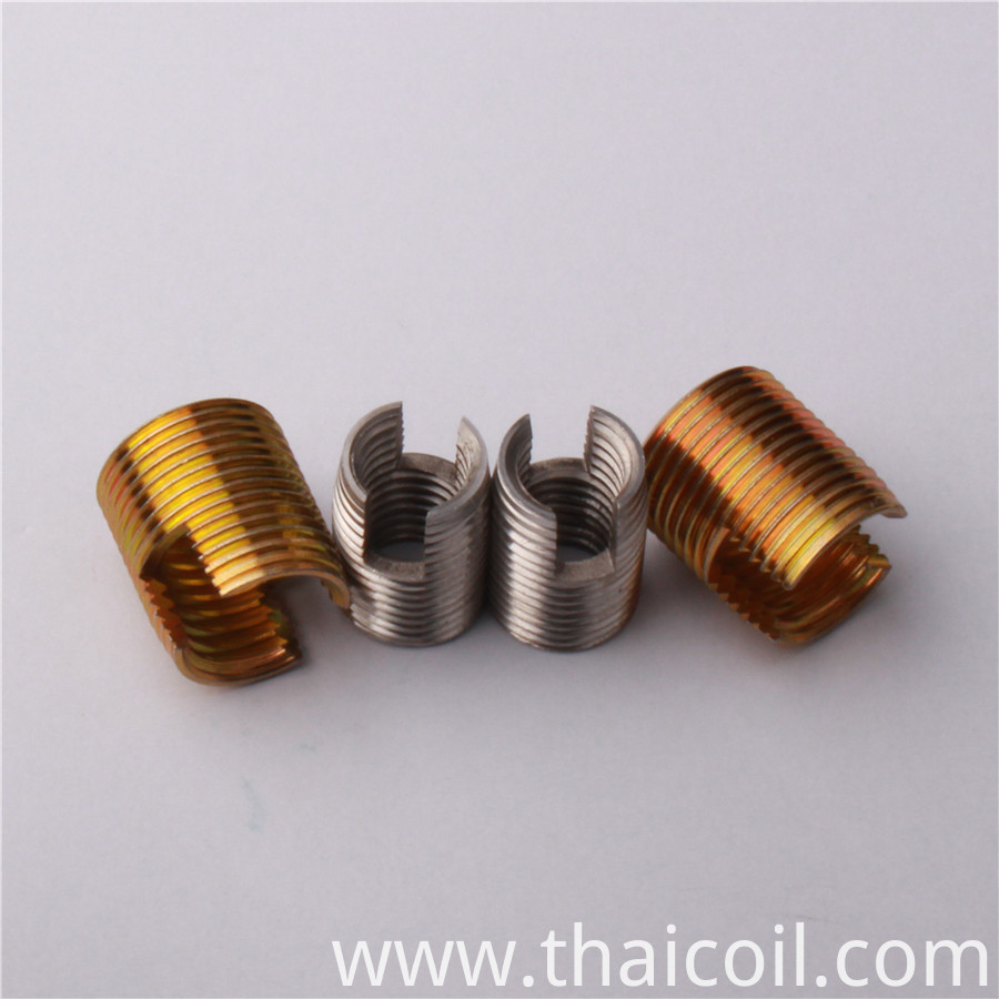 self tapping inserts for metal