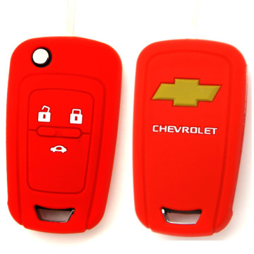 Silicone Chevrolet Remote Car Key Cover Protector