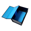 Flat Blue Personalized Sturdy Gift Box