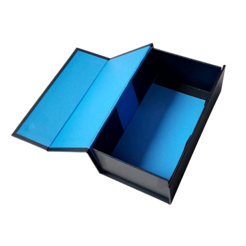 Sturdy Blue Gift Box with Magnet
