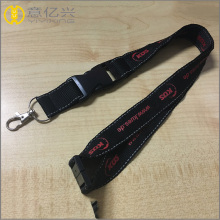 Customized sizes polyester material vip lanyard