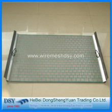 Steel 65 Mn Mine Vibrating Sieving Mesh