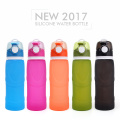 Outdoor sporting collapsible water bottles