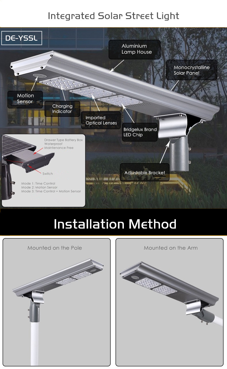 all in one solar street light delight eco energy