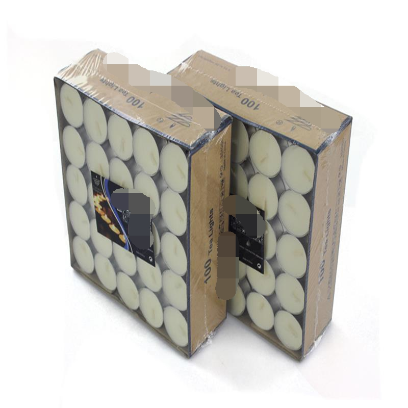 taobao decorative candles tealight candle in box