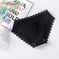 Womens cotton knickers sexy lace briefs panties