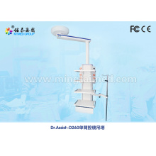 Mechanical single arm endoscopy medical pendant