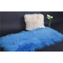 Tibetan Curly Fur Sheepskin Blanket