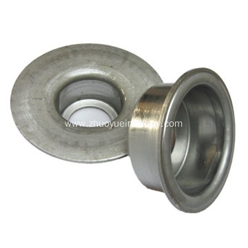 Belt Conveyor Roller Components Stamped Bearing Housings
