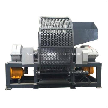 Two Shaft Shredder Machine For Waste Furniture Tire