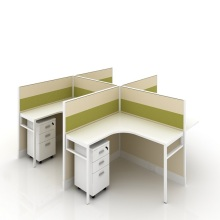office cubicle workstation 4 person office desks