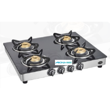 Classic 4 Burner SS Body Gas Stove