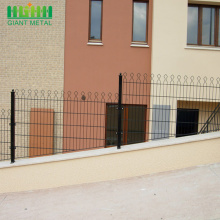 Welded Double Horizontal Wire Prestige Garden Fence