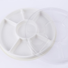 Customized food grade large shallow vacuum forming plastic tray