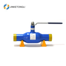 Chinese supplier best selling sus 304 discharge extended butt weld ball valve dn20 pn16