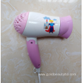 New Coming 1200W Cartoon Foldable Children Hairdryer