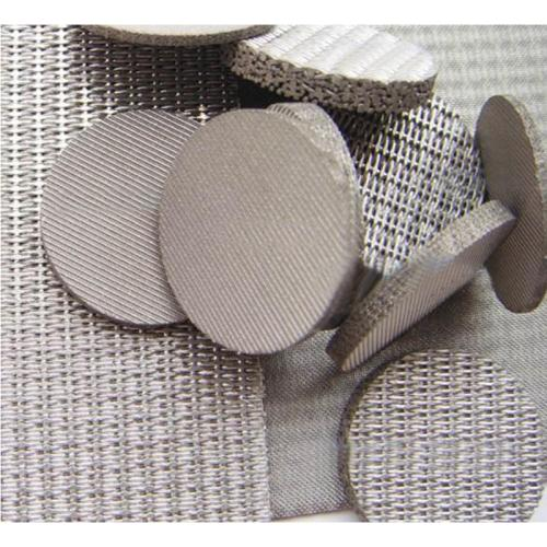 the filter disc of 5-layer sintered wire mesh