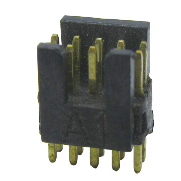 High definition for Box Header Connector 1.27*1.27MM BOX HEADER WITH THE KEY 180°H=2.54MM export to Saint Kitts and Nevis Exporter