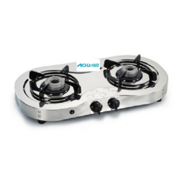 2 Burners LPG Gas Stove Auto Ignition