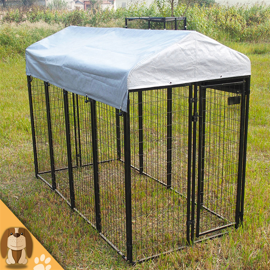 Outdoor large dog run kennel for sale
