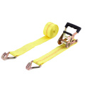 Popular US Type Cargo Securing Truck Tie Down Straps