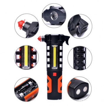 Multifunction Car Safety Hammer Emergency Work Lamp
