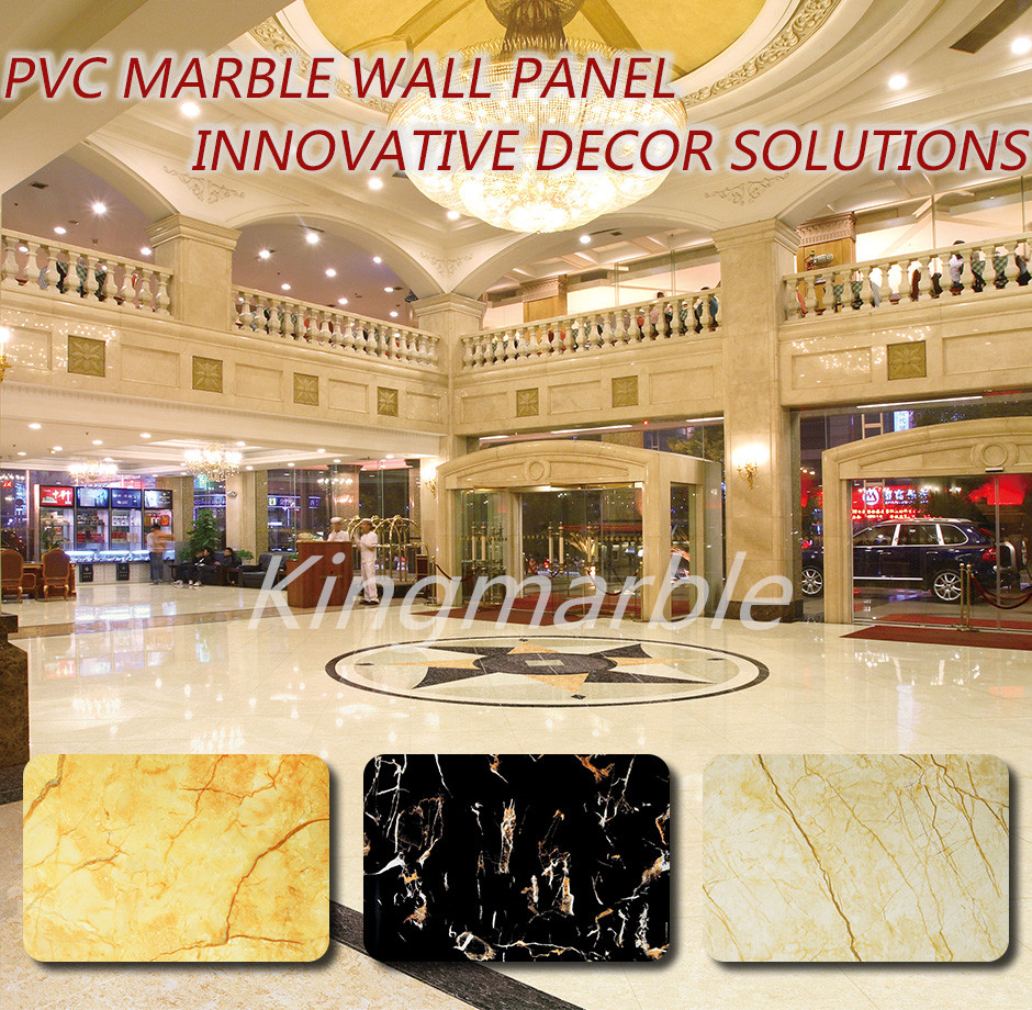 factory price uv pvc decorative panel