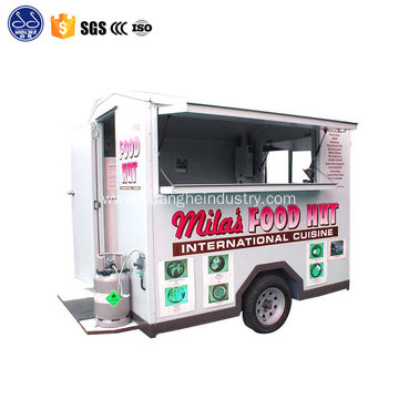 mobile food car for snack kiosk