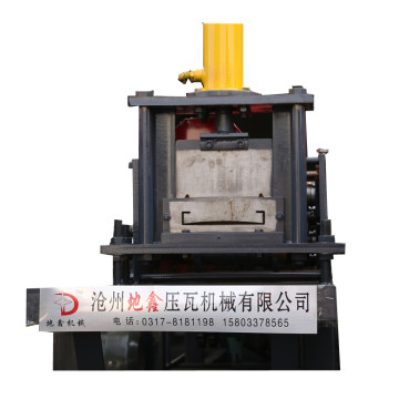Automatic wai baffle with high quality forming machine