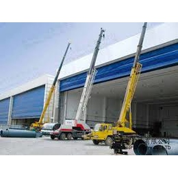 PVC Fabric Lifting Rolling Folding Up Flexible Door
