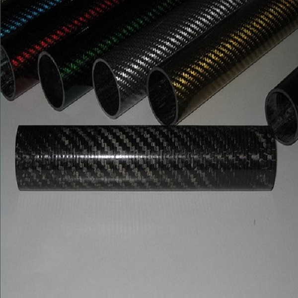 3K Carbon Fiber Tube or Colored CarbonFiber Tube