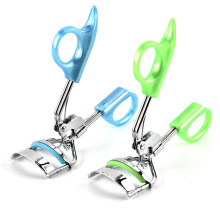 Fashion Stainless steel beauty Portable mini color Eyelash curler clip Eyelash accessory tool