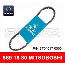 Special for Bando Scooter Belt 669 18 30 MITSUBOSHI V BELT DRIVE BELT 669 x 18 x 30 SCOOTER MOTORCYCLE V BELT TOP QUALITY supply to Netherlands Supplier