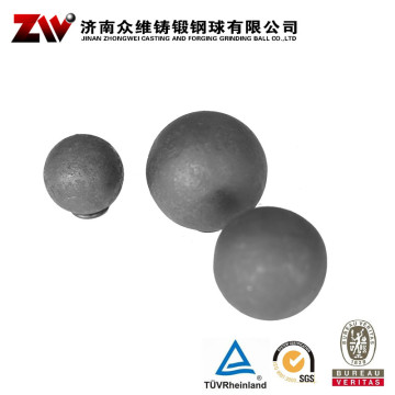 Hot rolling Forged grinding balls for mining 90mm