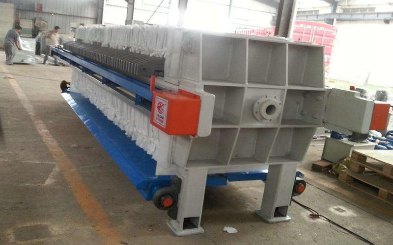 sewage sludge fiter press