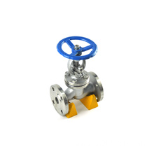 JKTL pn16 flow control cast iron globe valve for irrigation construction 24