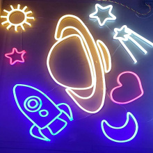 UNIVERSE LED NEON ILLUMINATED SIGNAGE
