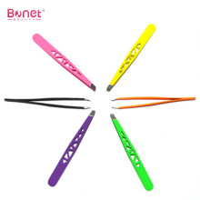 Good Quality for Offer Slant Tip Tweezers,Slanted Tweezers,Pointed Slant Tweezer From China Manufacturer Stainless Steel Hollow Style Eyebrow Tweezers export to Poland Manufacturers