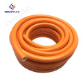 75ft pvc green reinforced garden hose pipe